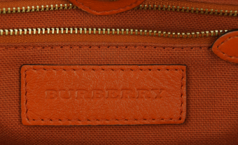Burberry Сanterbury small haymarket and red tote